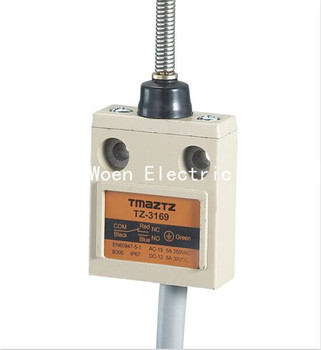 Tmaztz TZ-3169 IP67 4 Tel Rulo Kolu Piston Limit Switch SPDT NO + NC Bakır tel 3 M